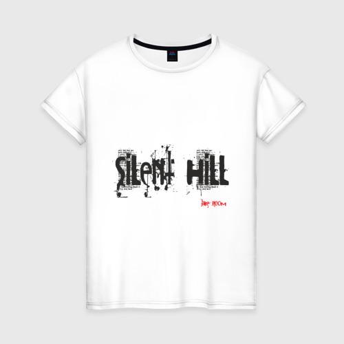 Женская футболка хлопок Sillent Hill