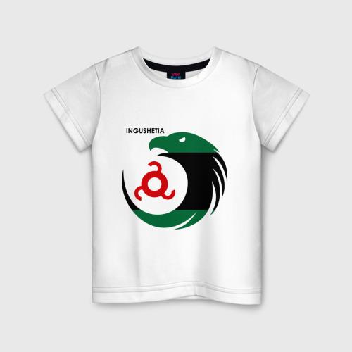 Детская футболка хлопок Ингушетия орел