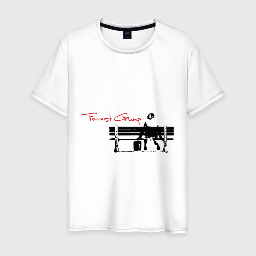 Мужская футболка хлопок Форест Гамп