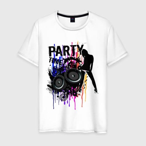 Мужская футболка хлопок Party Time