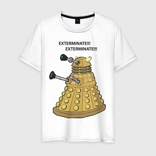 Мужская футболка хлопок Далек из сериала Доктор Кто