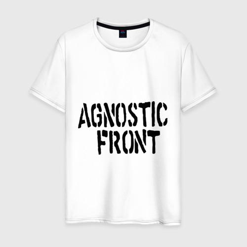 Мужская футболка хлопок Agnostic front