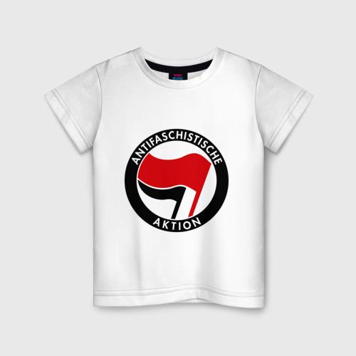 Детская футболка хлопок Antifa (1)
