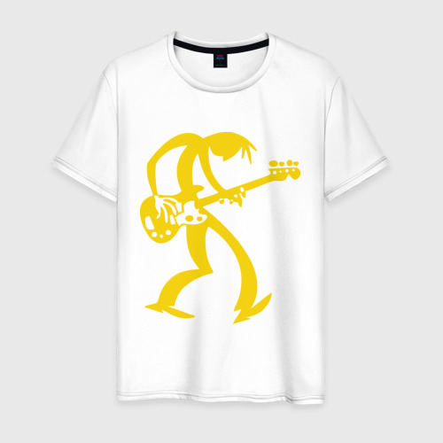Мужская футболка хлопок Басист