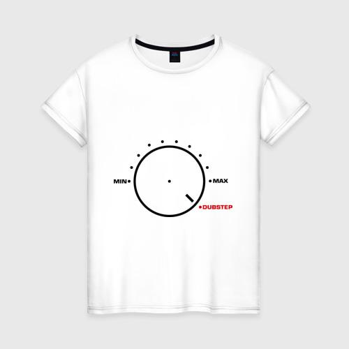 Женская футболка хлопок Регулятор dubstep