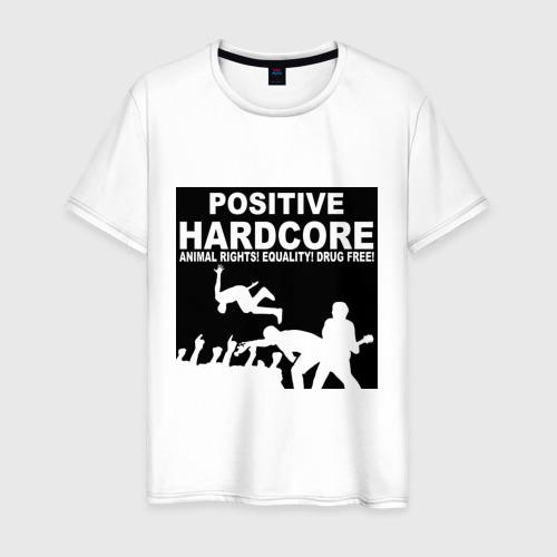 Мужская футболка хлопок Positive Hardcore