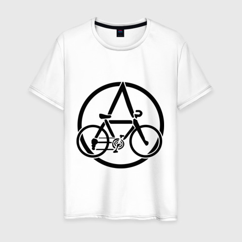 Мужская футболка хлопок Anarchy Bike