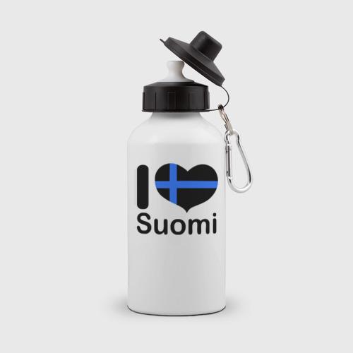 Бутылка спортивная Love Suomi