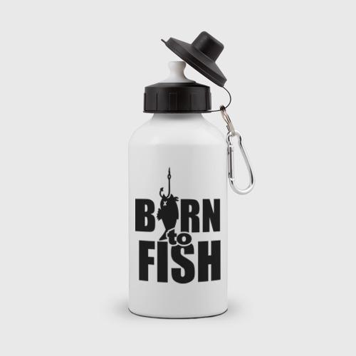 Бутылка спортивная Born to fish