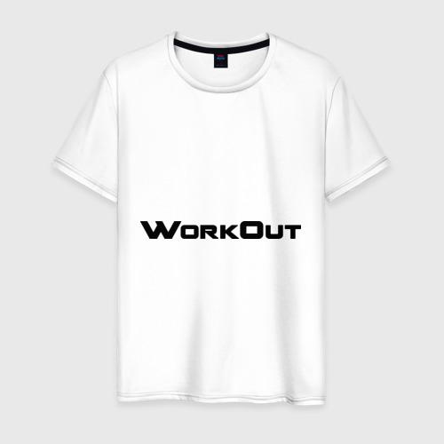 Мужская футболка хлопок Территория свободного фитнеса