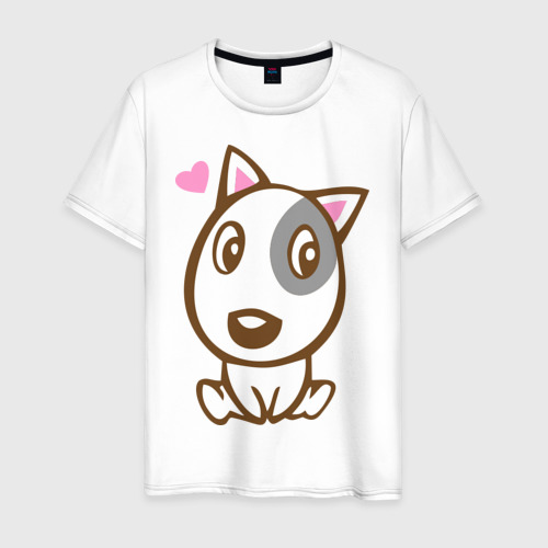 Мужская футболка хлопок Doggy in love