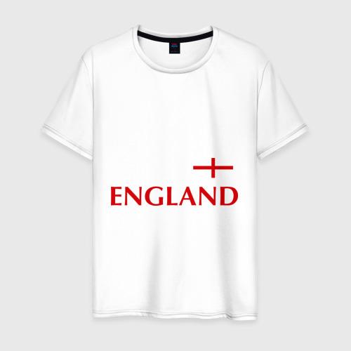 Мужская футболка хлопок Сборная Англии - 10