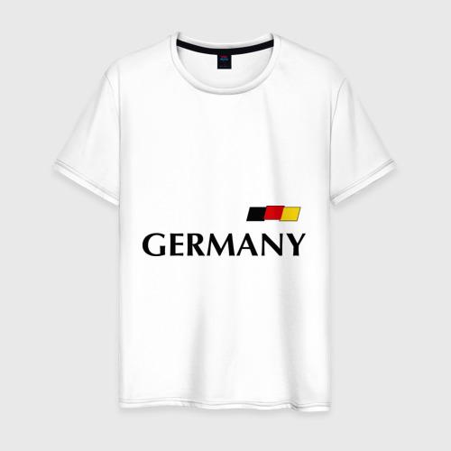 Мужская футболка хлопок Сборная Германии - 13