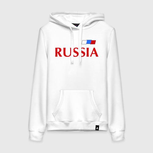 Женская толстовка хлопок Сборная России