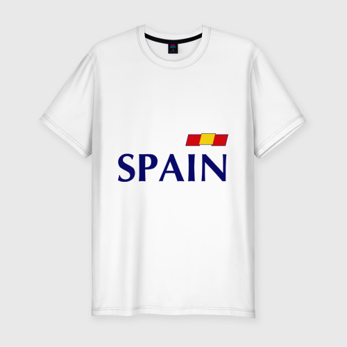Мужская футболка хлопок Slim Сборная Испании - 10