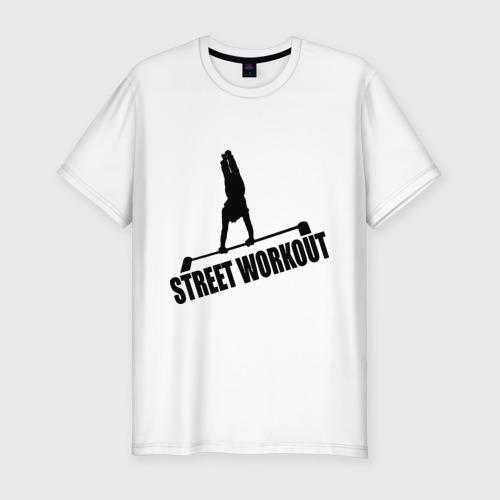 Мужская футболка хлопок Slim Street Workout S
