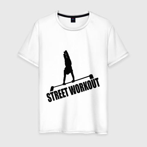 Мужская футболка хлопок Street Workout S