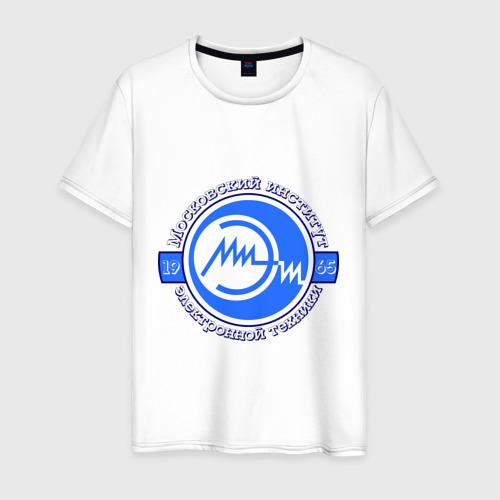 Мужская футболка хлопок МИЭТ