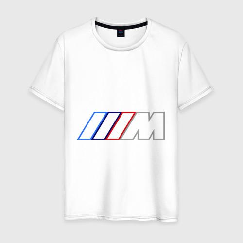 Мужская футболка хлопок BMW Motor Contur