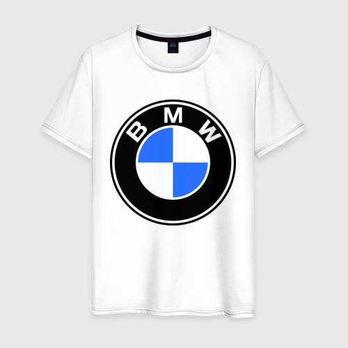 Мужская футболка хлопок Logo BMW