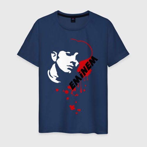 Мужская футболка хлопок Drop of blood