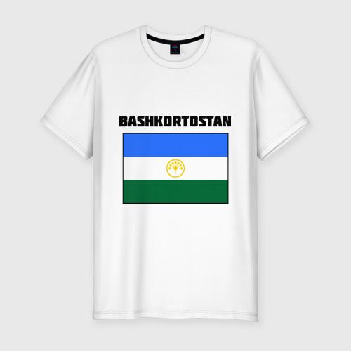 Мужская футболка хлопок Slim Bashkortostan flag