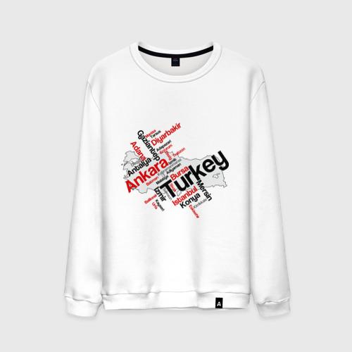 Мужской свитшот хлопок Турция (крупные города)