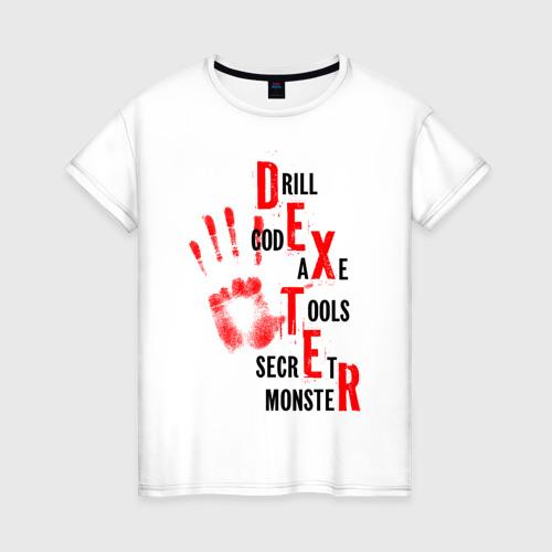 Женская футболка хлопок Drill code axe tools