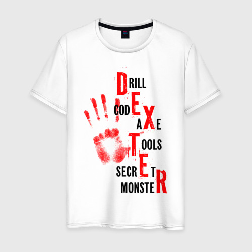 Мужская футболка хлопок Drill code axe tools