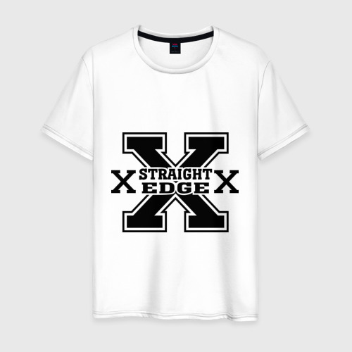 Мужская футболка хлопок Streght edge (sXe) (2)