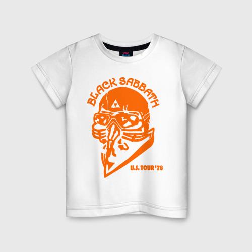 Детская футболка хлопок Black Sabbath