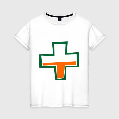 Женская футболка хлопок TF2 Health