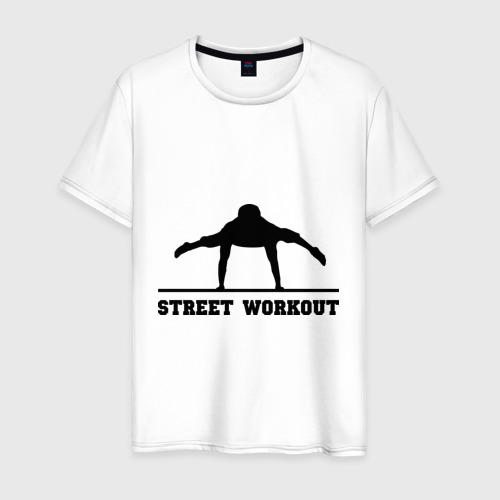 Мужская футболка хлопок Street Workout V