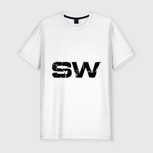 Мужская футболка хлопок Slim Стрит Воркаут