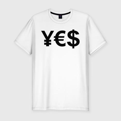 Мужская футболка хлопок Slim YE$