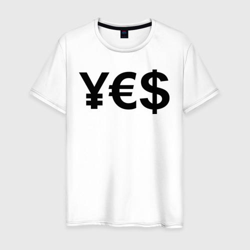 Мужская футболка хлопок YE$
