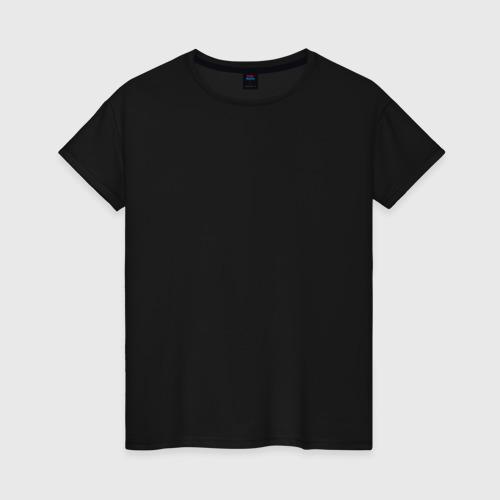 Женская футболка хлопок Sons of anarchy back