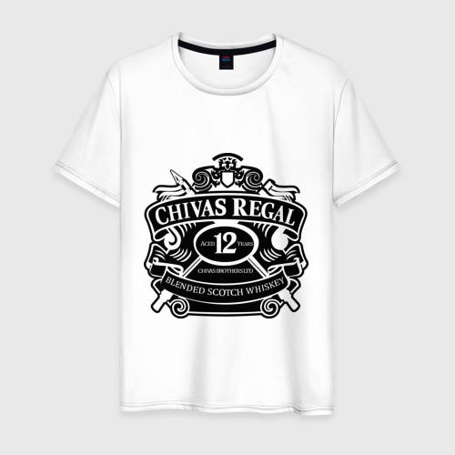 Мужская футболка хлопок Chivas Regal blended scotch