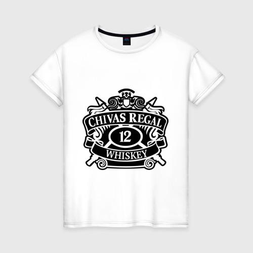 Женская футболка хлопок Chivas Regal whiskey