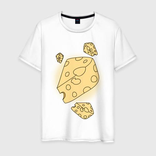 Мужская футболка хлопок Cheese for mousy