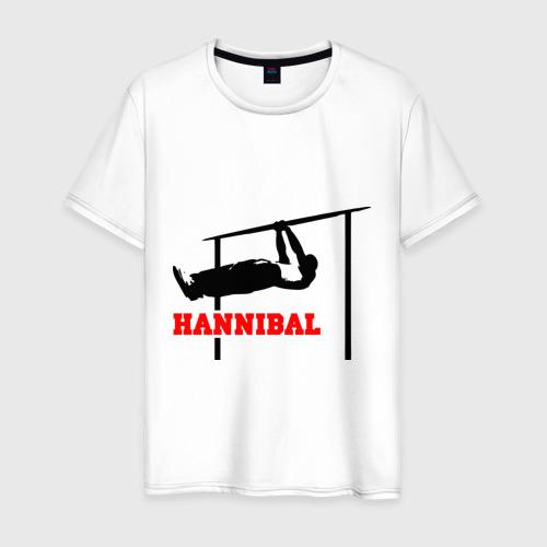 Мужская футболка хлопок Hannibal For King Workout