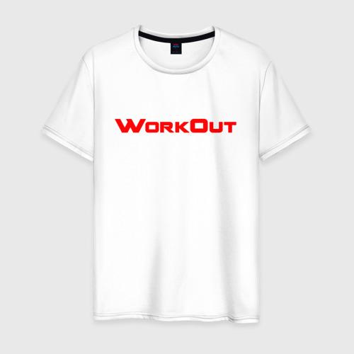 Мужская футболка хлопок Фитнес городских улиц