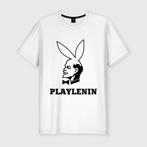 Мужская футболка хлопок Slim playlenin