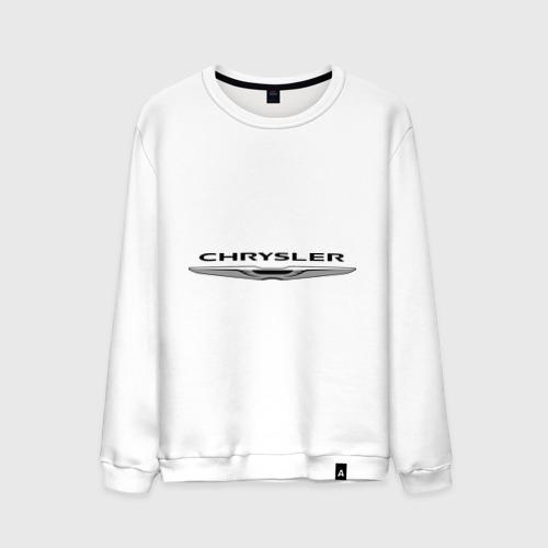 Мужской свитшот хлопок Chrysler лого
