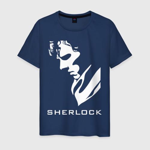 Мужская футболка хлопок Шерлок Холмс