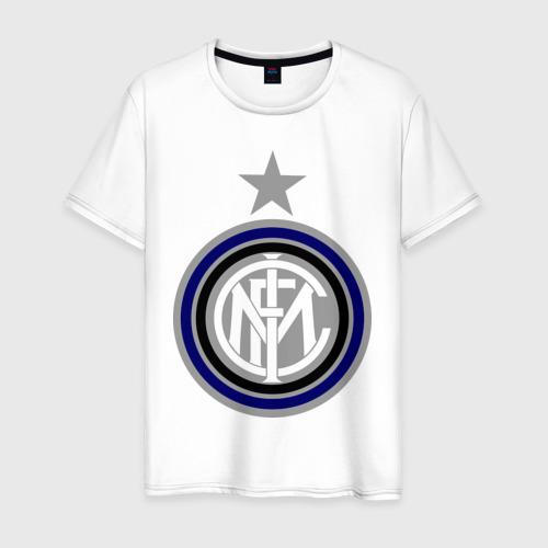 Мужская футболка хлопок Интер