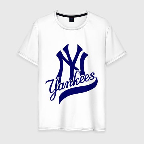 Мужская футболка хлопок NY - Yankees