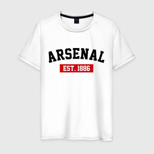 Мужская футболка хлопок FC Arsenal Est. 1886