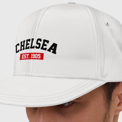 Кепка снепбек с прямым козырьком FC Chelsea Est. 1905