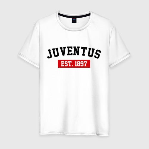 Мужская футболка хлопок FC Juventus Est. 1897